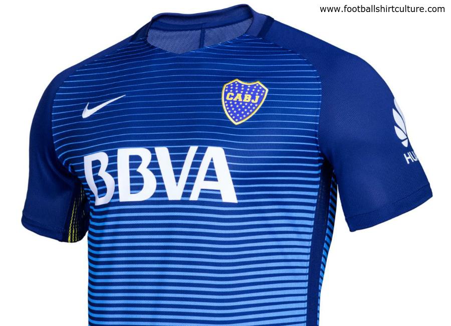 best service fac9f f4125 Boca Juniors 16/17 Nike Third Shirt | 16/17 Kits | Football ...