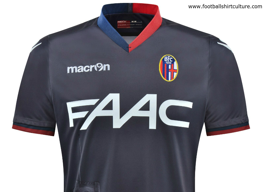 Bologna 2016 17 Macron Third Kit