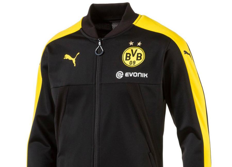 Borussia Dortmund 2017 Puma Stadium Jacket Puma Black