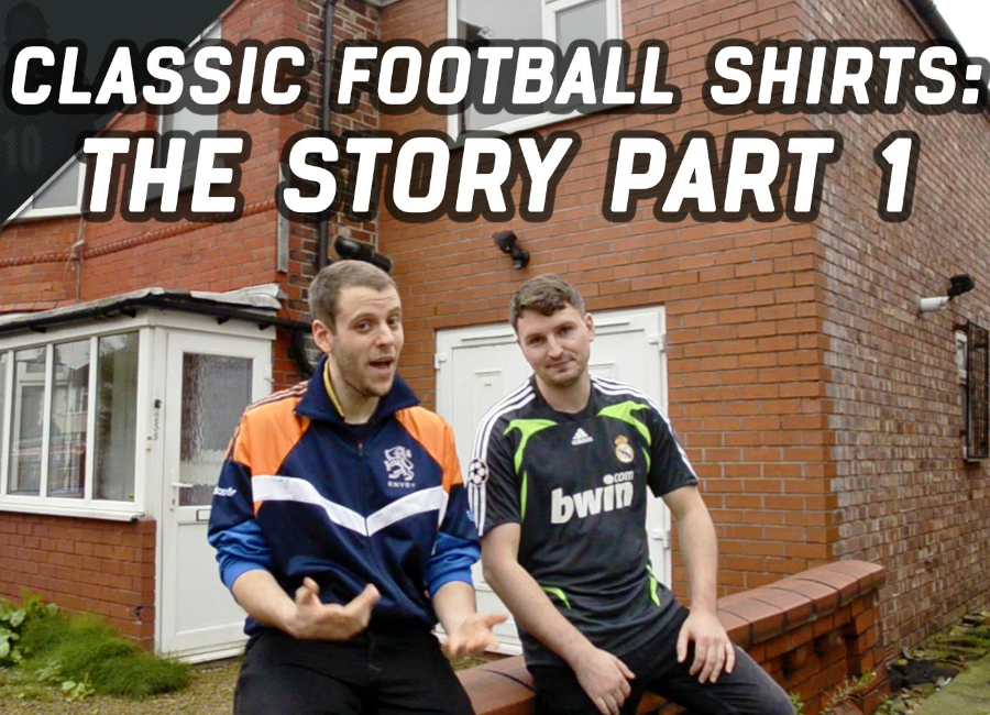 Classic Football Shirts The Story