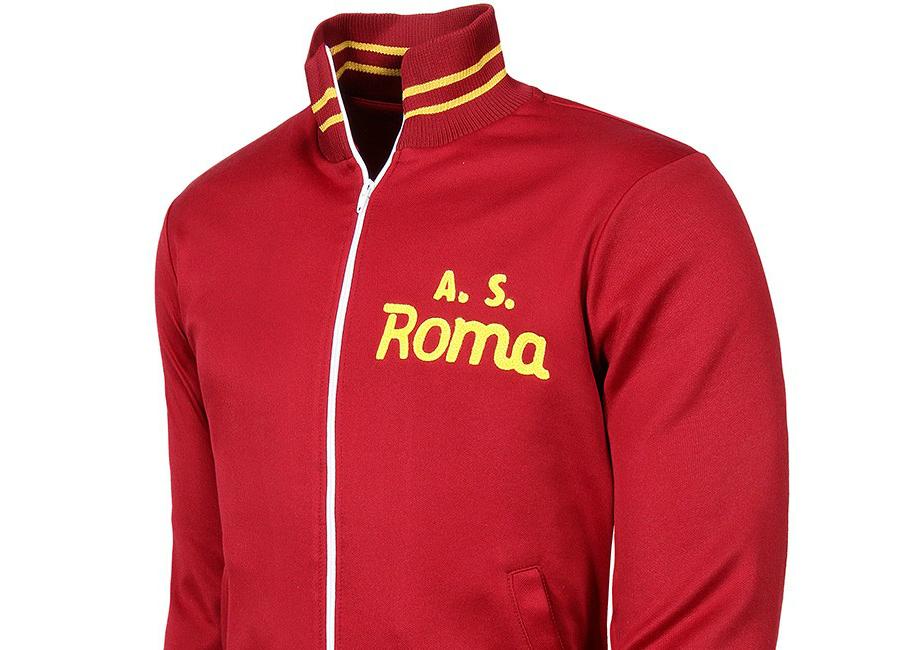 copa as roma 1974 75 retro football jacket retro. Black Bedroom Furniture Sets. Home Design Ideas