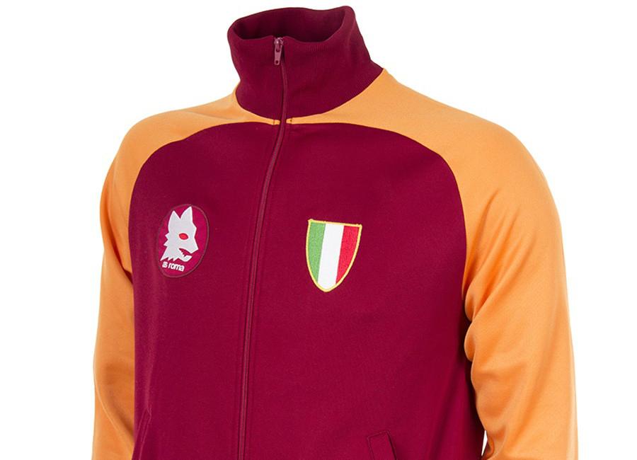 copa as roma 1983 scudetto retro football jacket retro. Black Bedroom Furniture Sets. Home Design Ideas