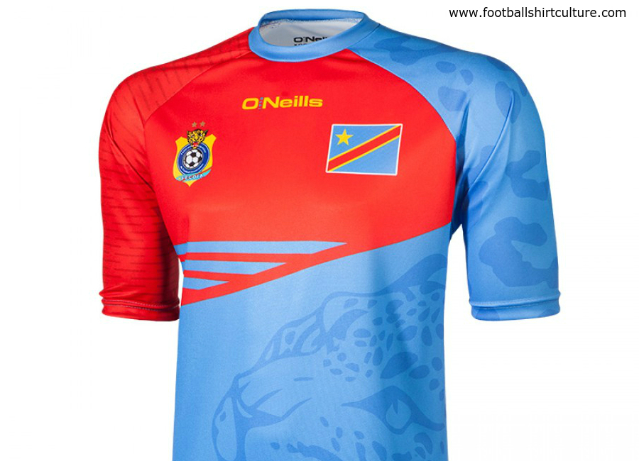 Democratic Republic Of Congo 2016 O Neills Chan Champion Shirt