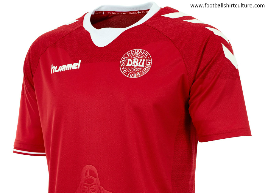Denmark 2016 2017 Hummel Home Kit