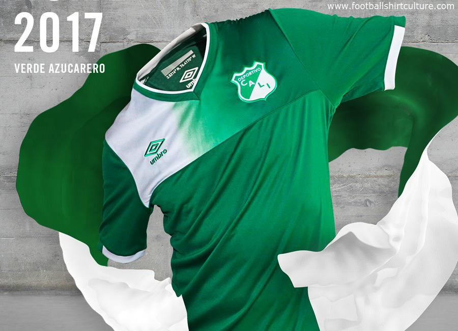 Deportivo Cali 2017 Umbro Home Away Shirts