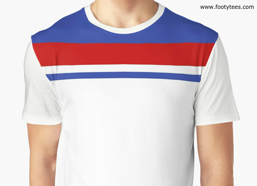England Ec 1980 Wc 1982 Home T Shirt
