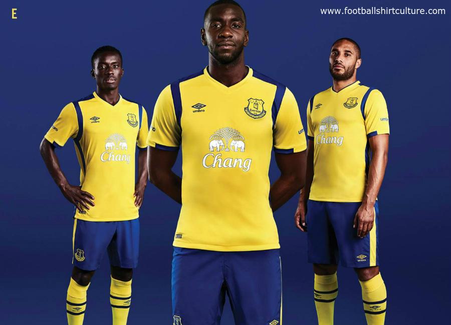 brand new 02fd2 38aaf Everton 16/17 Umbro Third Kit | 16/17 Kits | Football shirt blog