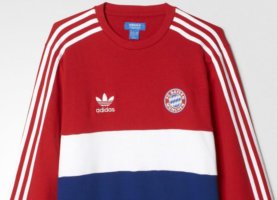sale retailer da599 e0a6c FC Bayern München 1981 Adidas Originals Sweatshirt   Retro ...