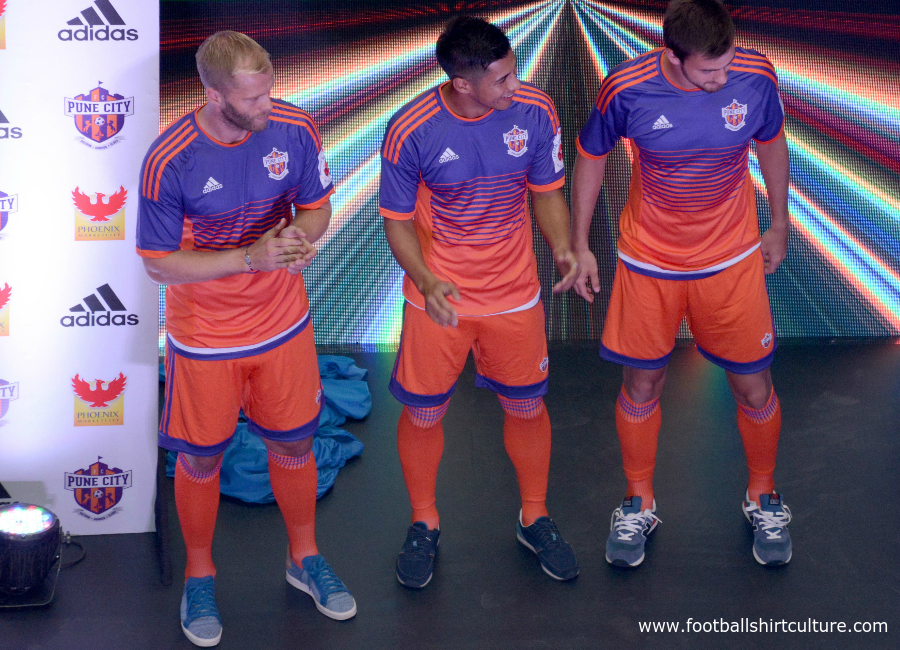 Fc Pune City 2016 Adidas Home Kit