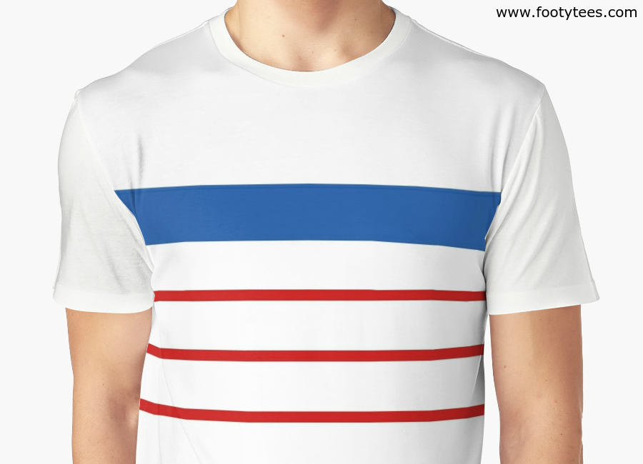 France Ec 1984 Away T Shirt