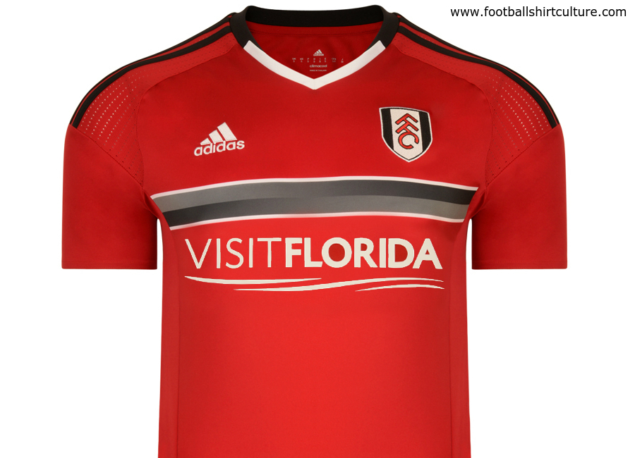 Fulham 2016 17 Adidas Away Kit