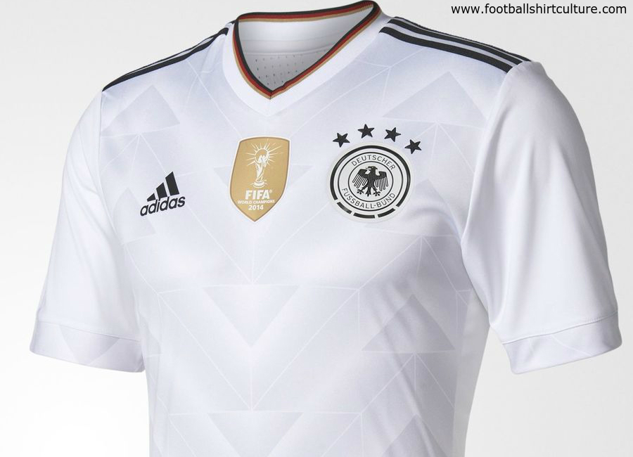 Germany 2017 Confederations Cup Adidas Home Kit Shirt