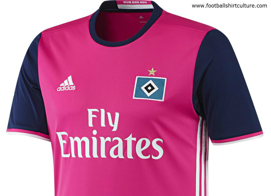 Hamburger Sv 16 17 Adidas Away Kit