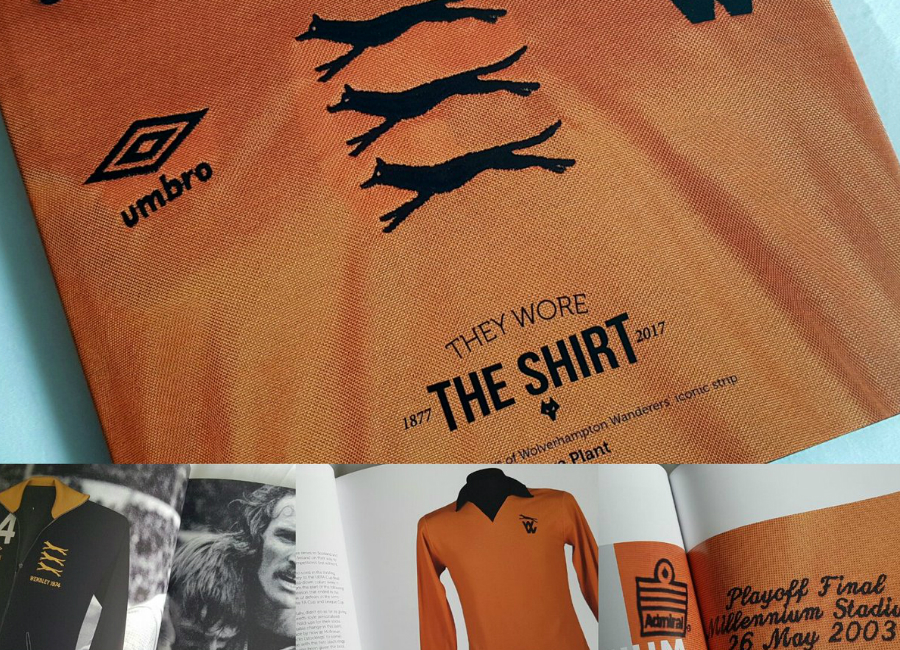 Historic Wolves Shirts Brought To Life In Unique New Book