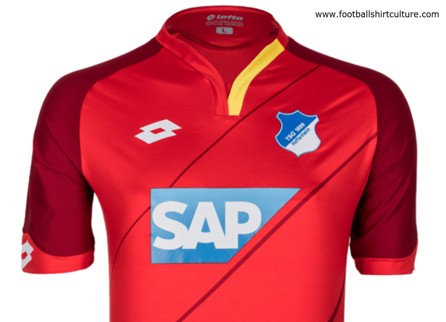 Hoffenheim 2016 2017 Lotto Third Kit