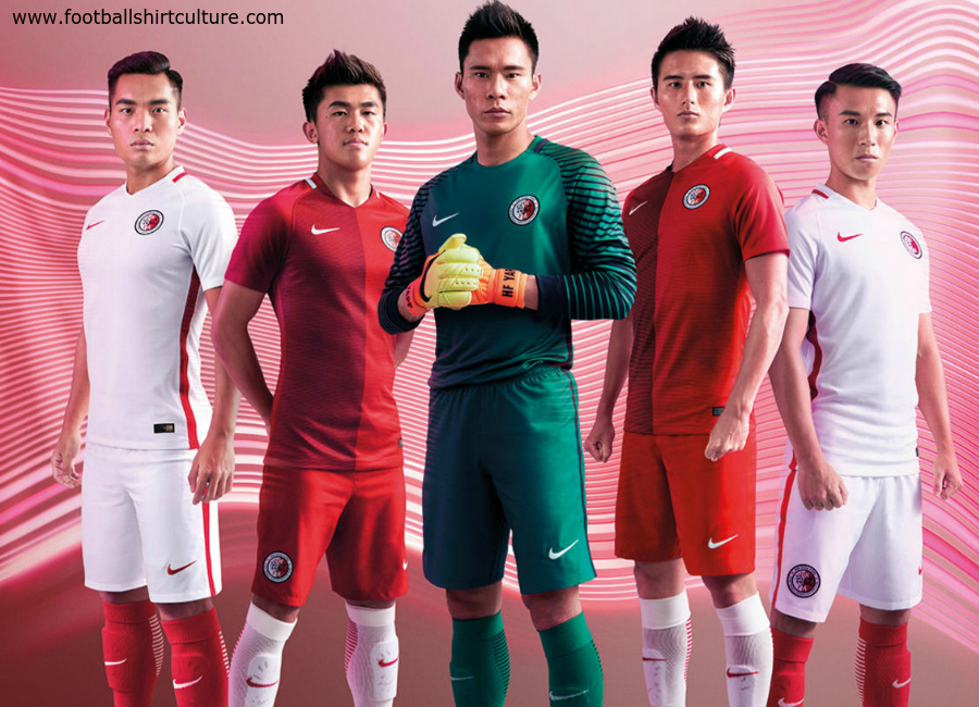 Hong Kong 2016 Nike Home And Away Kits