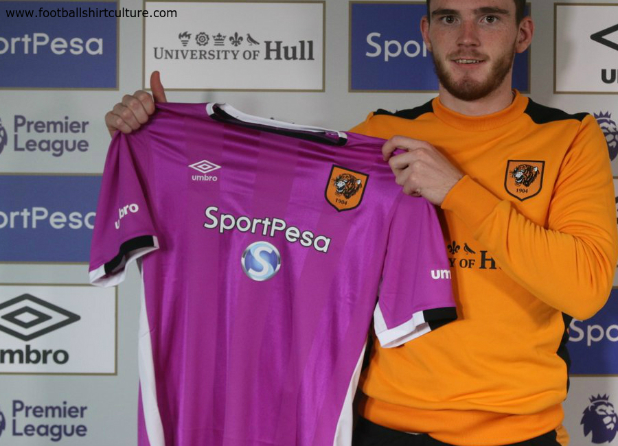 Hull City 2016 2017 Umbro Third Shirt