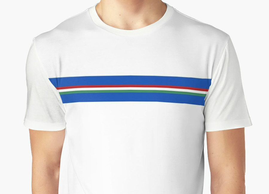 Italy Wc 1986 Away T Shirt
