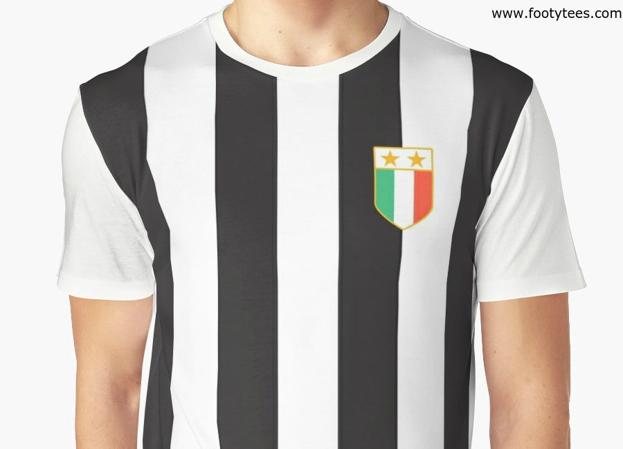 Juventus 1984 Home T Shirt
