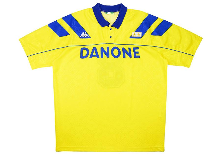 8b5f4c97cd2 Kappa 1992-93 Juventus Match Worn Away Shirt