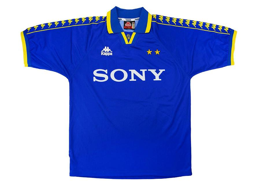 212aa7f80 Kappa 1996-97 Juventus Match Worn Amichevole Away Shirt
