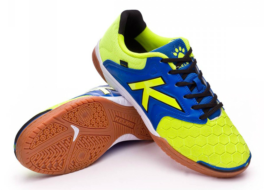 Kelme Feline 3 0 Lime Blue Black