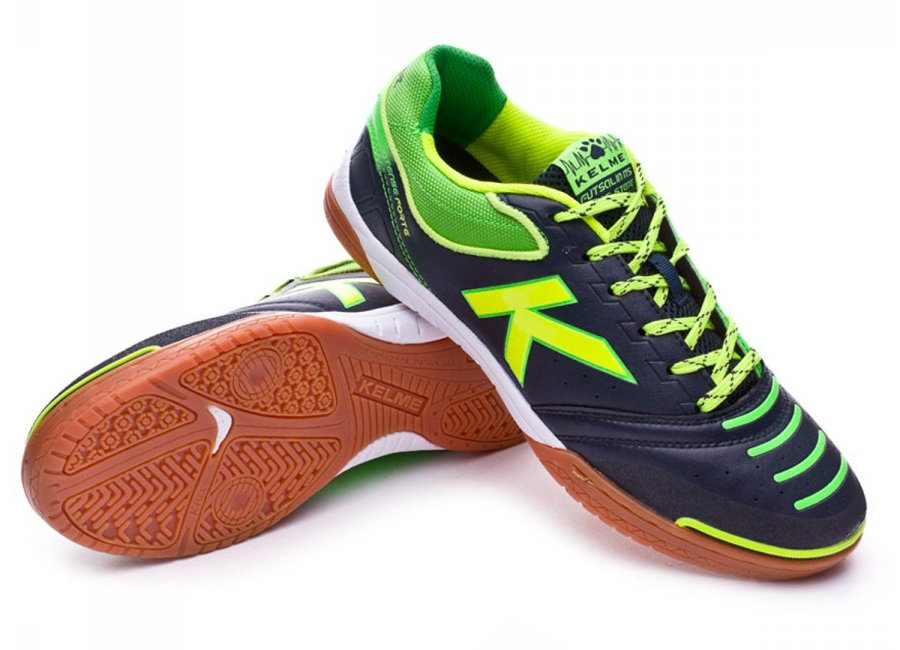 Kelme Intense Forte Black Lime Green