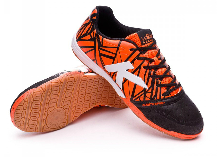 Kelme Subito Spirit Electric Orange White Black