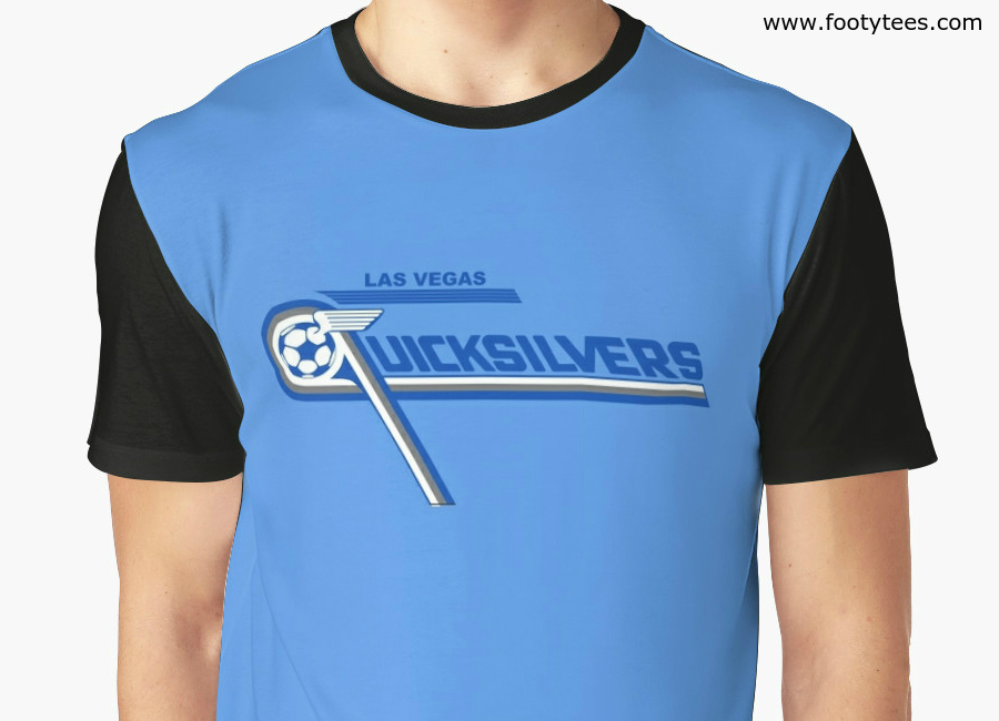 Las Vegas Quicksilvers 1977 Home T Shirt