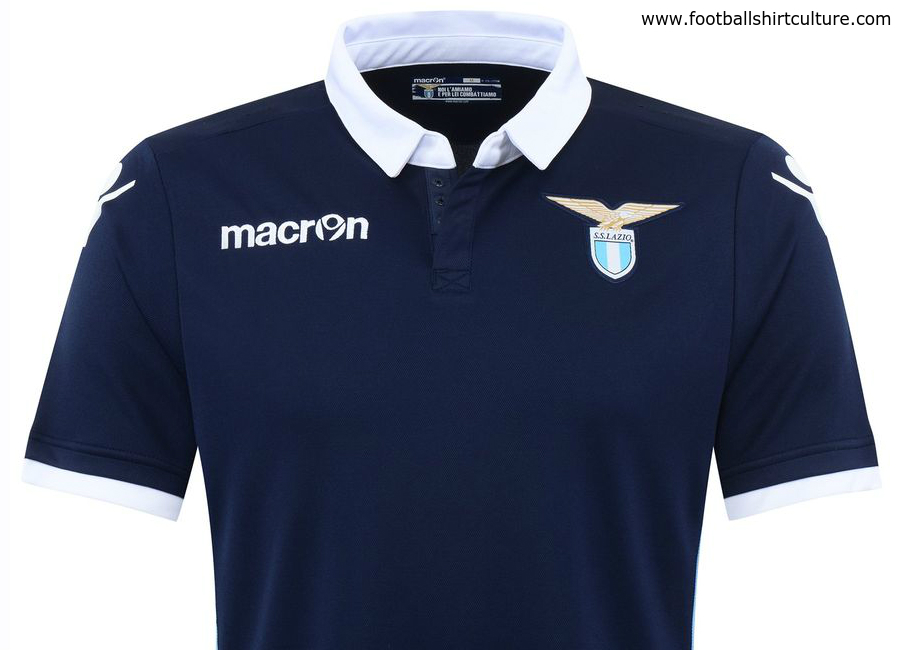 Lazio 2016 17 Macron Away Kit