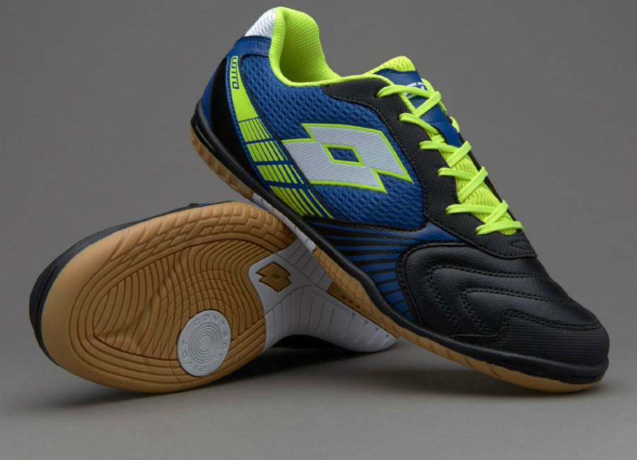 Lotto Tacto Ii 500 Black Volt Blue