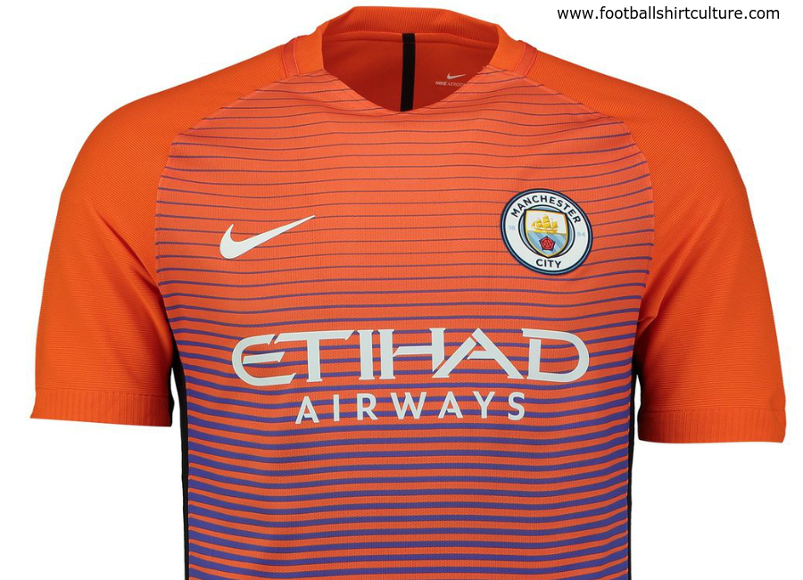 Manchester City 2016 2017 Nike Third Kit