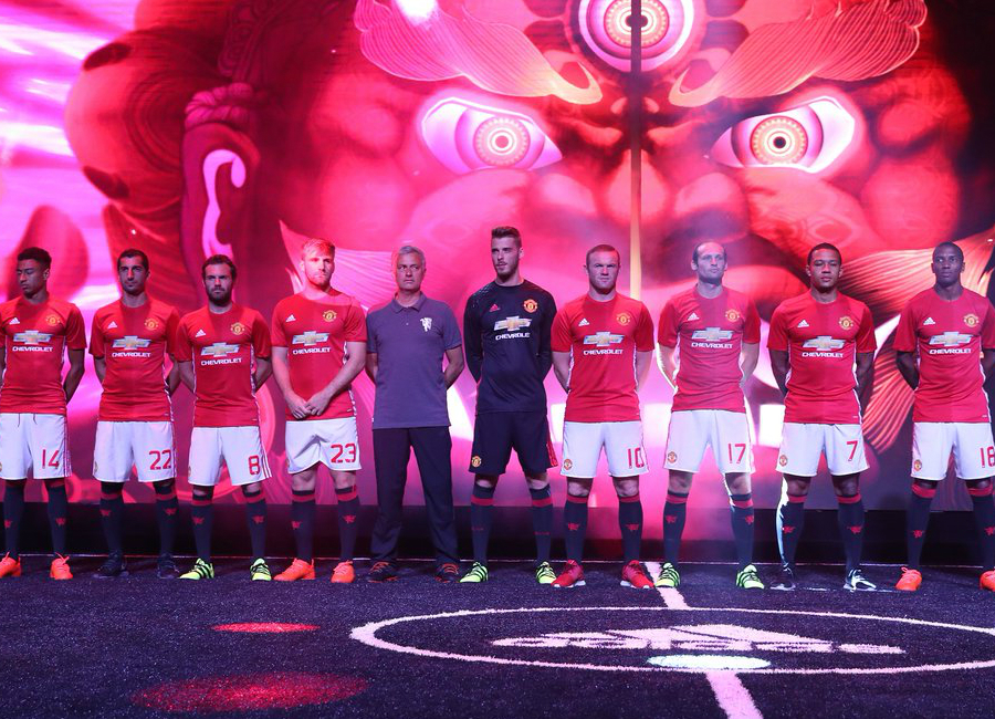 Manchester United 2016-17 Home Kit Launch In Shanghai