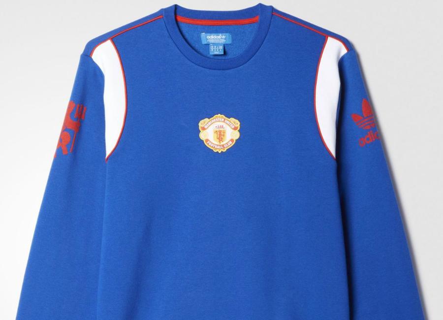 the best attitude 343c8 8910c Manchester United FC 1985 Adidas Originals Sweatshirt ...