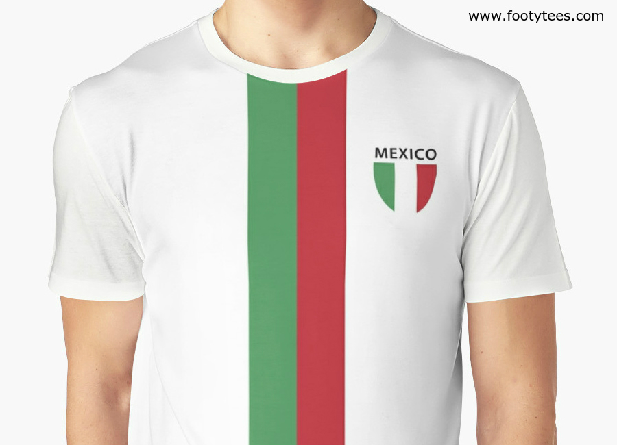 Mexico 1980s Away T Shirt