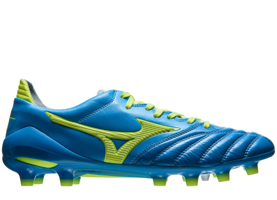Mizuno Morelia Neo Ii Fg Made In Japan Diva Blue Safety Yellow