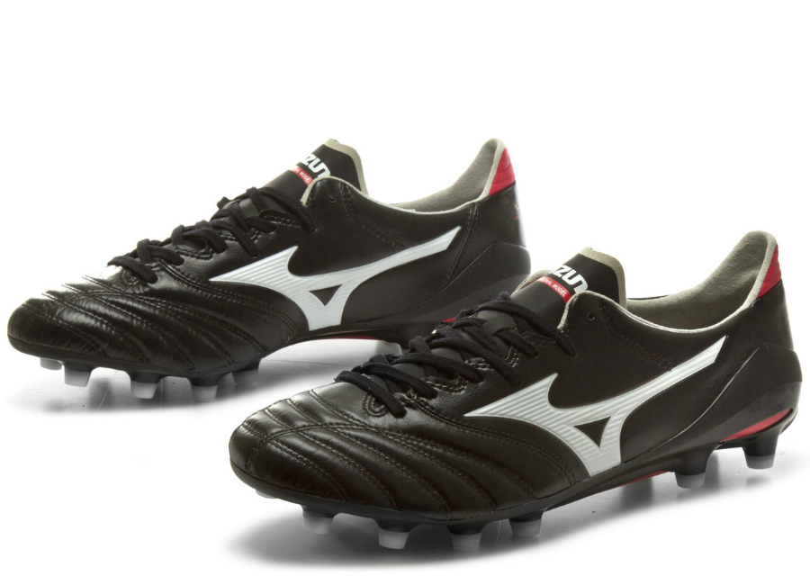 Mizuno Morelia Neo Ii Md Fg Football Boots Black White Red