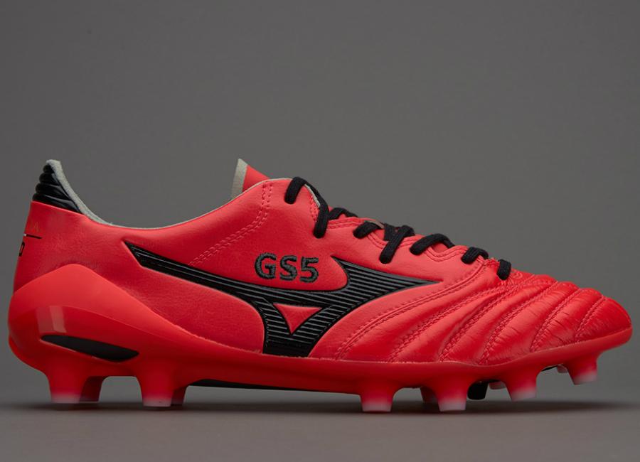 sports shoes e43e0 59e8d Mizuno Morelia Neo II MD - Fiery Coral / Black | Football ...