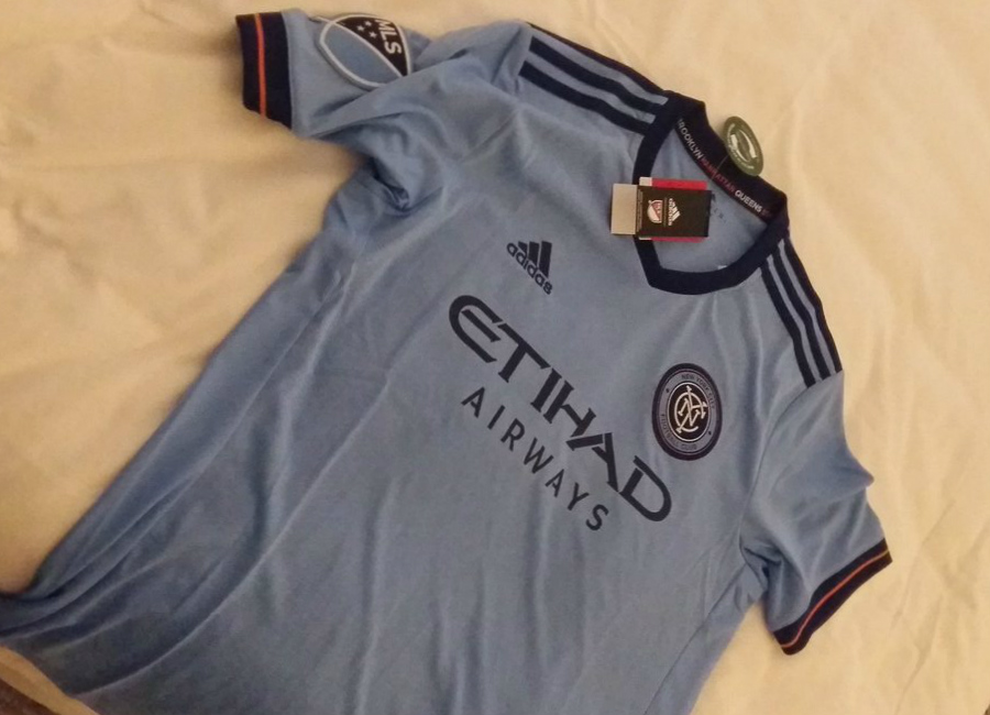 New York City Fc 2017 Adidas Home Shirt Leaked