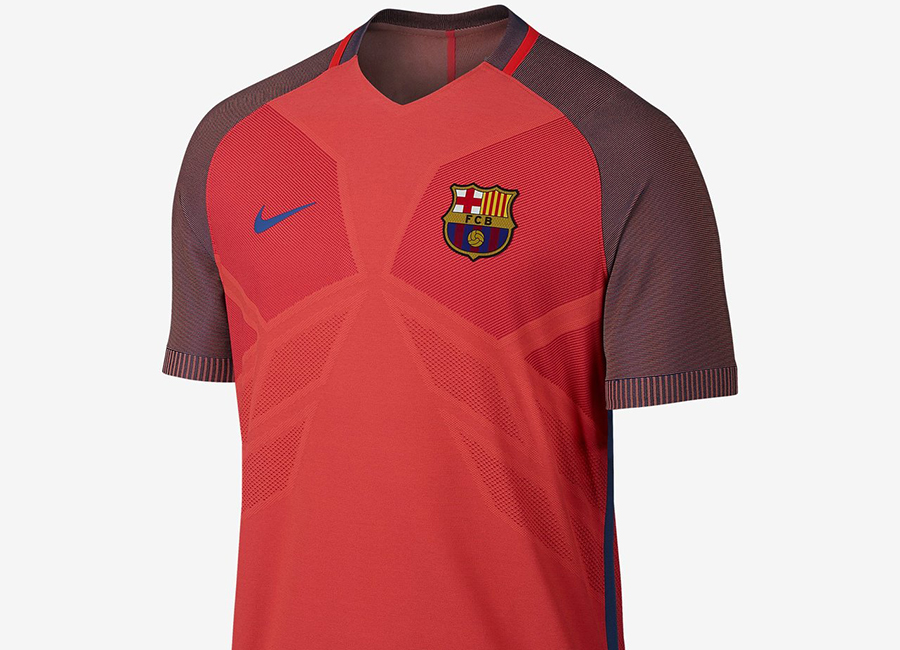 2745c333f Nike FC Barcelona Strike Football Top - Bright Crimson   Bright Crimson   Game  Royal   Game Royal