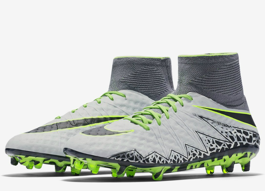 Nike Hypervenom Phantom Ii Fg Elite Pack Pure Platinum Black Ghost Green