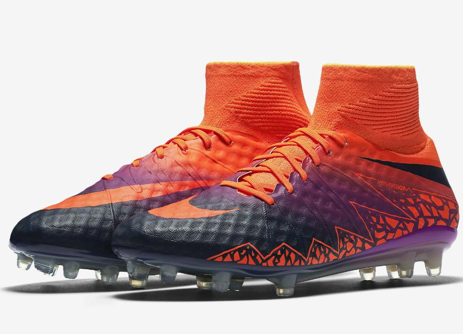 on sale 6d012 6abc9 Nike Hypervenom Phantom Ii Fg Floodlights Pack Total Crimson Vivid Purple  Obsidian