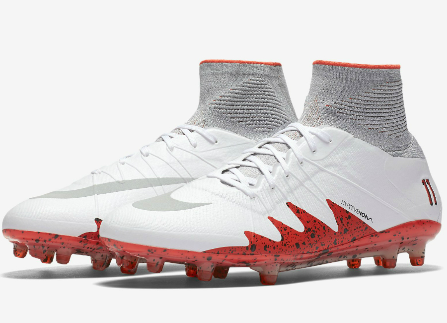 Nike Hypervenom Phantom Ii Neymar Fg White Light Crimson Black Reflect Silver