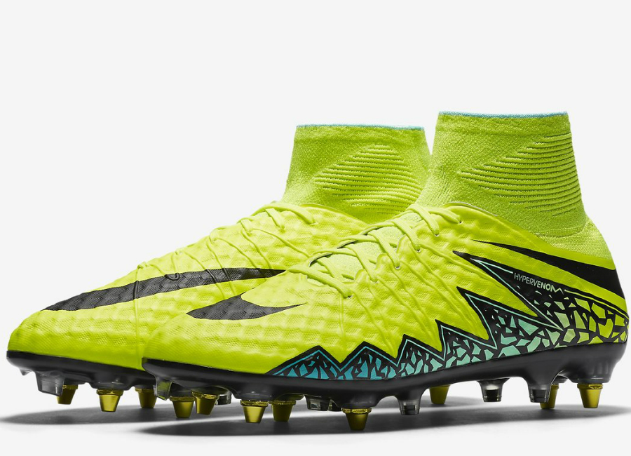 more photos new arrivals nice cheap Nike Hypervenom Phantom II SG-Pro Anti-Clog Traction - Volt ...