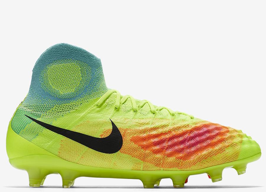 621927868f6 Nike Magista Obra II FG - Volt / Total Orange / Pink Blast / Black ...
