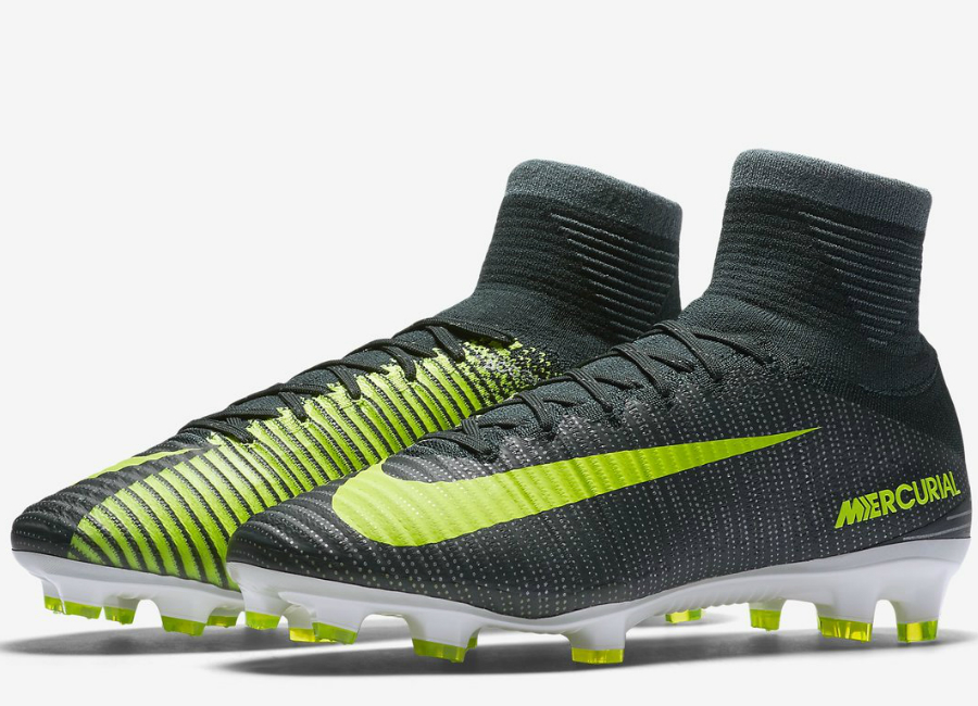 4486e2af1d3 Nike Mercurial Superfly V Cr7 Fg Chapter 3 Discovery Seaweed Hasta White  Volt