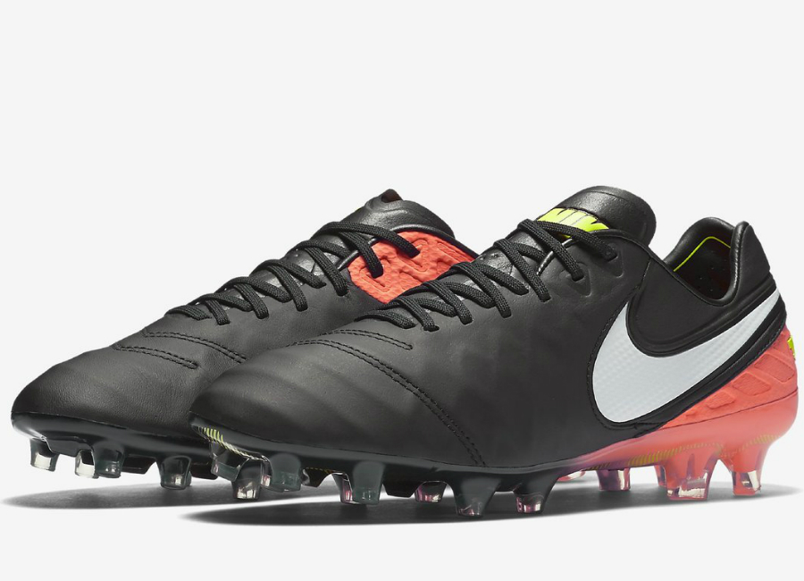 Nike Tiempo Legend Vi Fg Dark Lightning Pack Black Hyper Orange Volt White