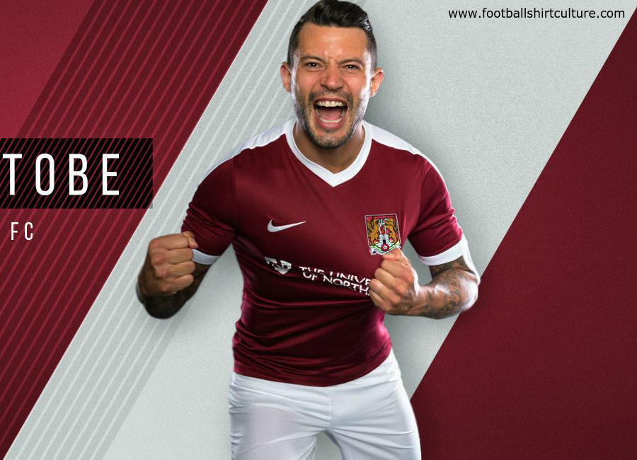 Northampton Town 2016 17 Nike Home Kit