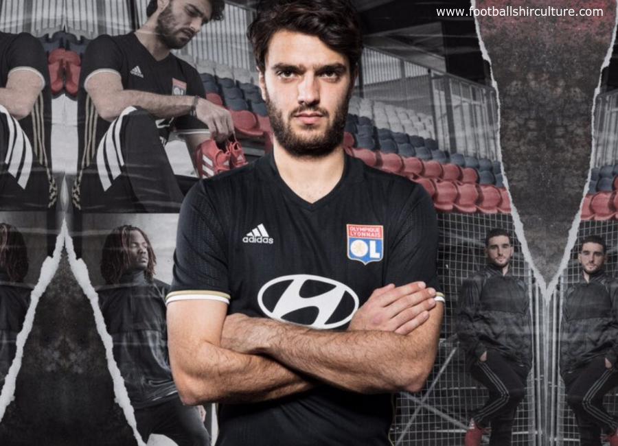 size 40 bac76 18110 Olympique Lyon 16/17 Adidas Third Kit | 16/17 Kits ...