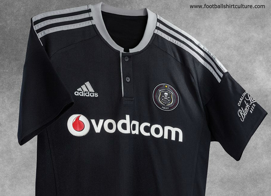 Orlando Pirates 2016 17 Adidas Home Shirt